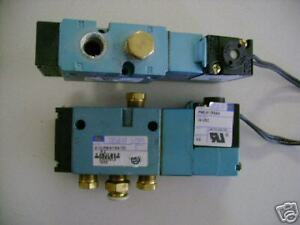 MAC 811C-PM-E11JJ-152 Pneumatic Valve//MAC PME-611JJ Coil
