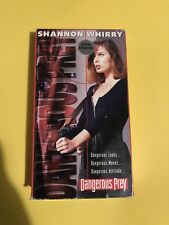 Dangerous Prey (VHS, 1995) Shannon Whirry. OOP/HTF