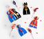 Batman-Super-Heros-Fete-Sac-Remplissage-Cadeau-Butin-POUR-ANNIVERSAIRE-LOLLIPOP-Sticker miniature 4
