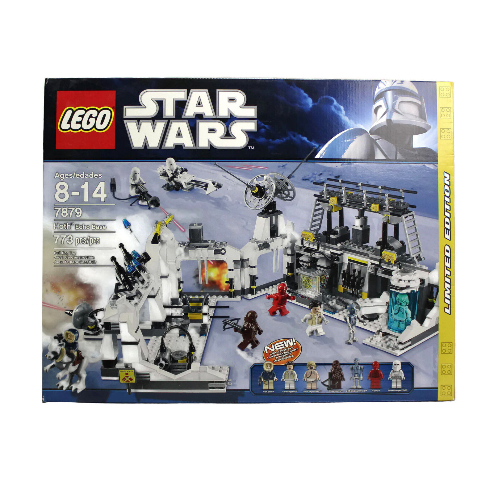 LEGO stjärnornas krig varmH ECHO BASE 7879 begränsad Edition 2011NY NIB SEALD Pensionerad