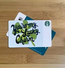 2019 Spring 'You're My Lucky Charm' Collectible Starbucks Gift Card