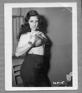 Vintage 1950s Black White Pinup Photo Nude Ebay