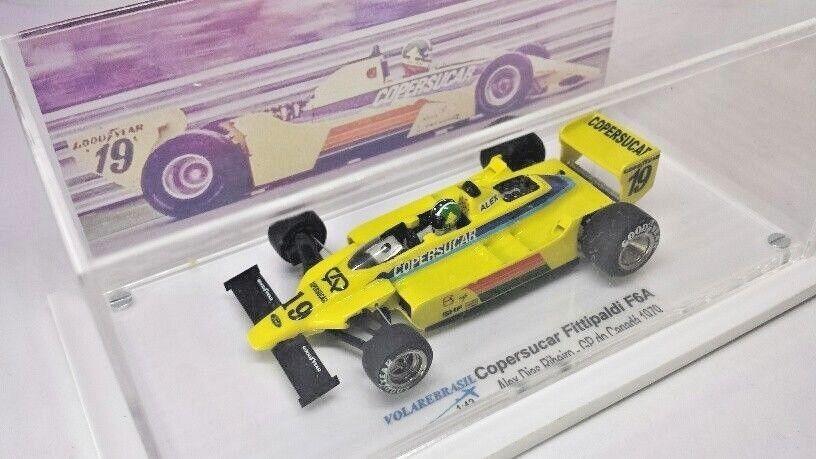 Volarebrasil 1 43 miniature F1 Copersucar Fittipaldi Grand Prix F6A peut 79 Emerson Alex
