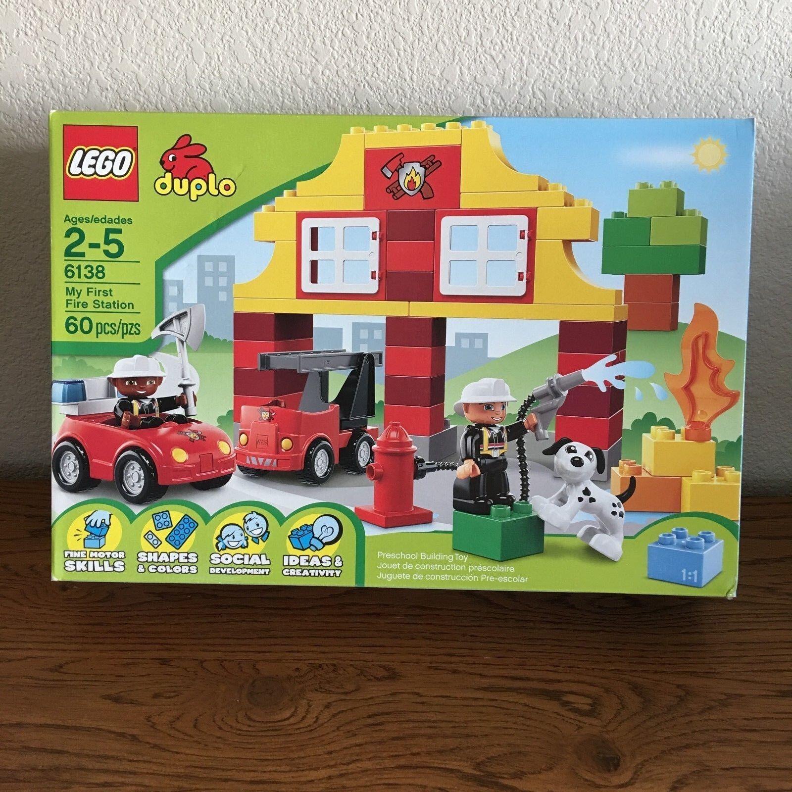 LEGO Duplo Duplo Duplo My First Fire Station (6138) 0f5a9f