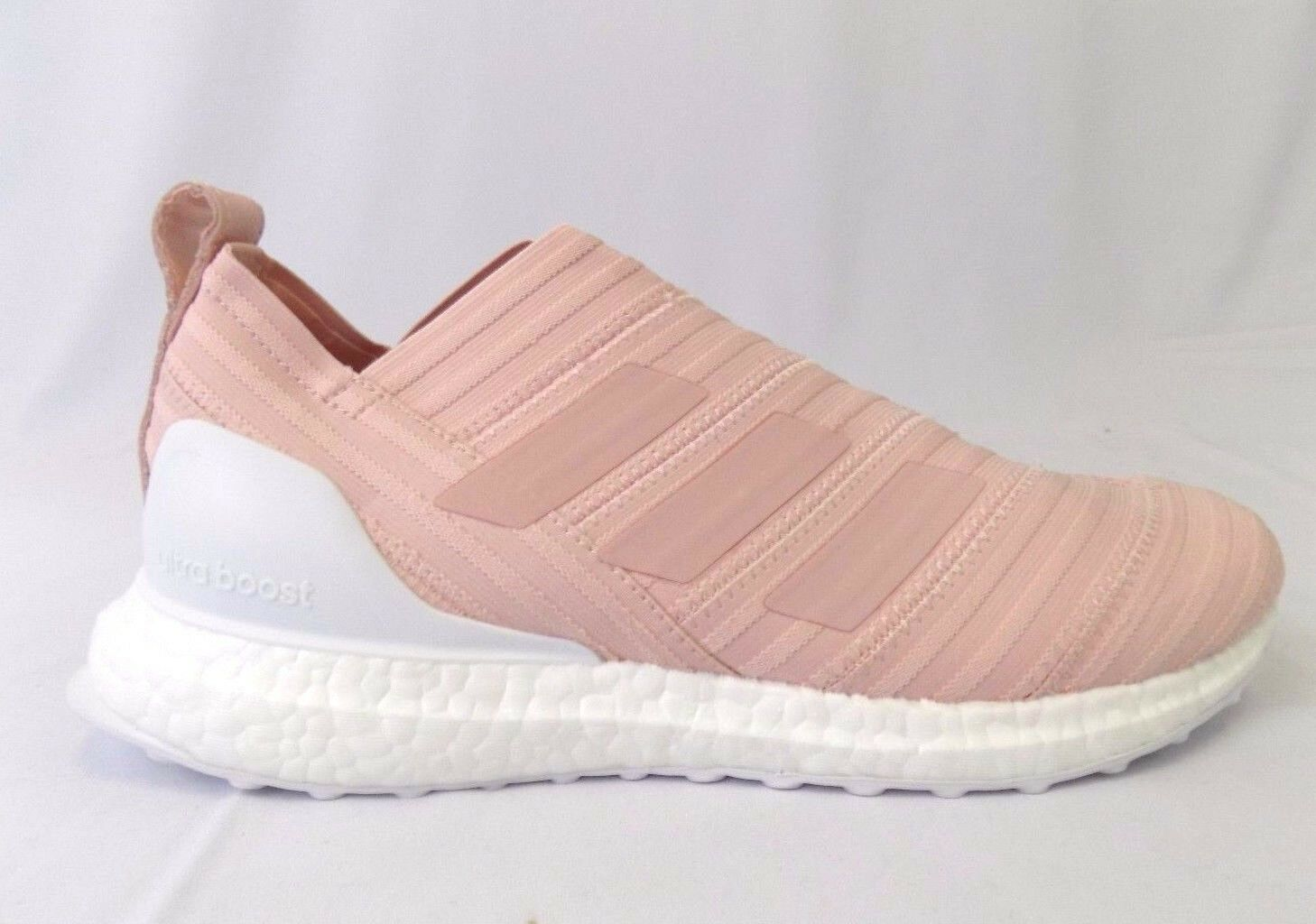 NEW MEN'S ADIDAS KITH NEMEZIZ 17 ULTRABOOST FLAMINGO PINK SOCCER SHOES SNEAKERS