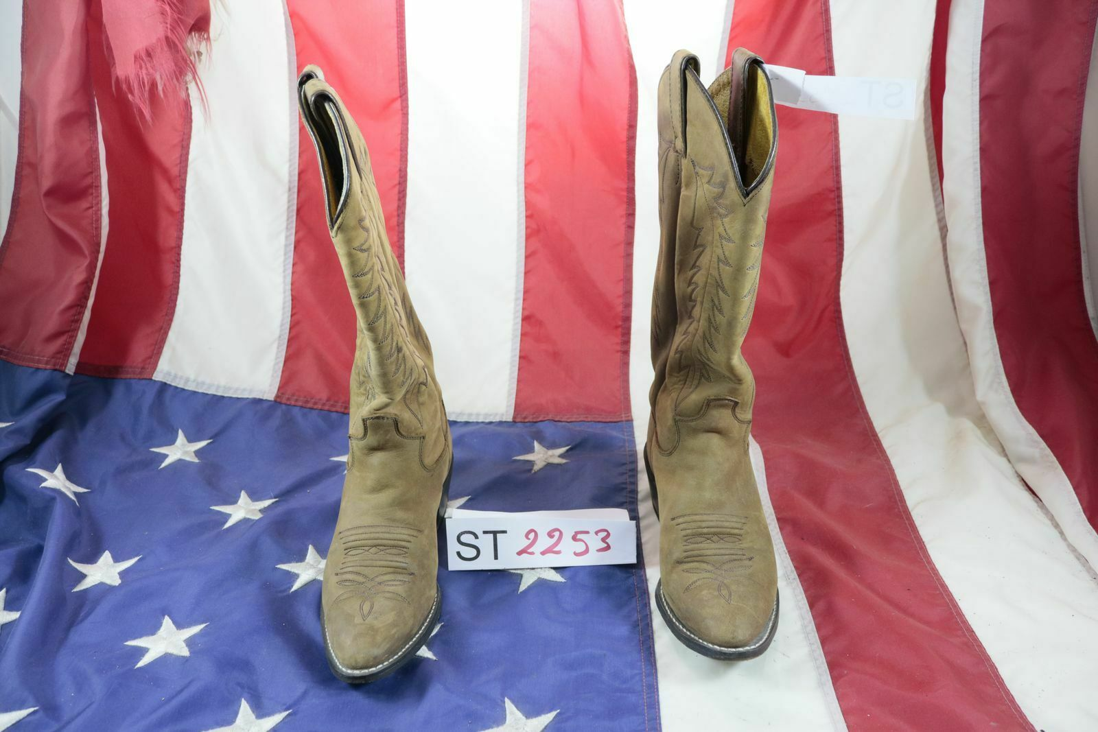 Stiefel Justin Hergestellt in Mexico ( Cod. ST2253) Gebraucht N.5,5 C.Stiefel