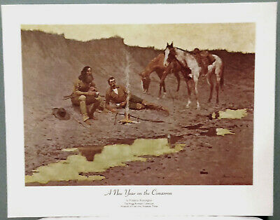 """The Fall of the Cowboy 8.5x11/"""" Photo Print Frederic Remington Art Horses Fence"""