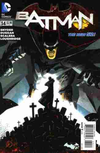BATMAN #34 NEW 52 NEAR MINT NEW UNREAD COPY #cdec16-558