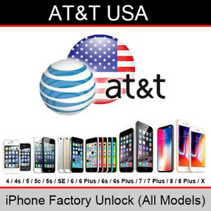48c7611e8e4 AT&T USA iPhone Factory Unlock Service (All Models/Clean/Out of ...