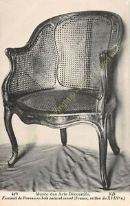 Postcard-Arts-Decorative-Chair-Furniture-Office-Period-XVIII-Edit-ND-413
