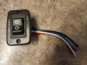 TRAILER RV CAMPER MOTORHOME ELECTRIC AWNING SWITCH IN-OUT ...