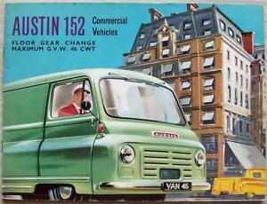 AUSTIN 152 OMNIVAN, OMNITRUCK & OMNICOACH Sales Brochure c1958 #1307/O