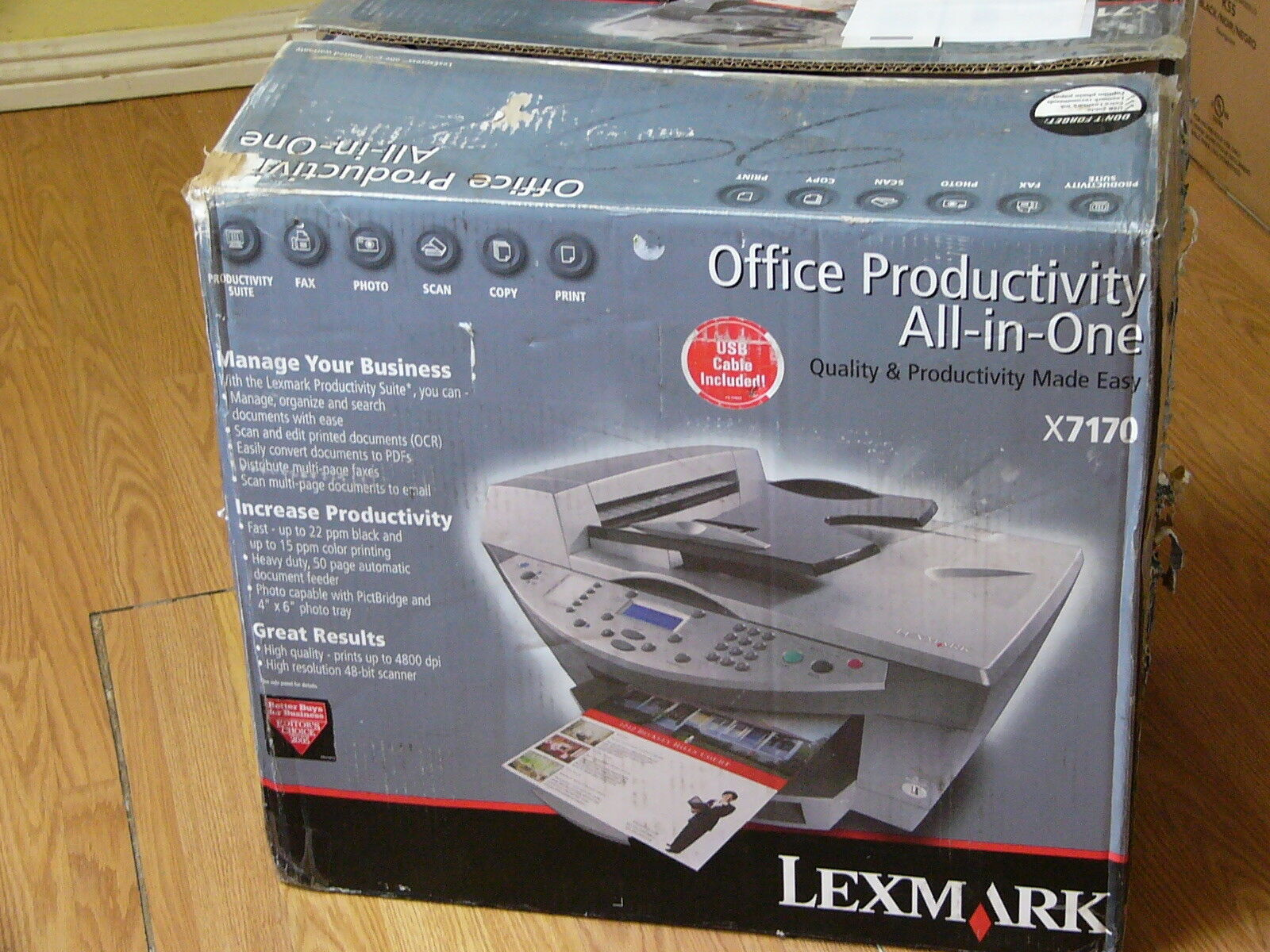 LEXMARK X7170 ALL-IN-ONE PRINTER DRIVER FOR PC