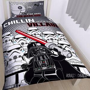 Lego-Star-Wars-Villains-Single-Panel-Duvet-Cover-Bed-Set-Gift-Darth-Vader