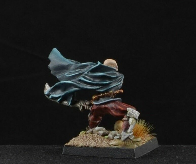 Painted Bloodseeker Vampire from Reaper Miniatures male evil evil evil D&D character 09a866