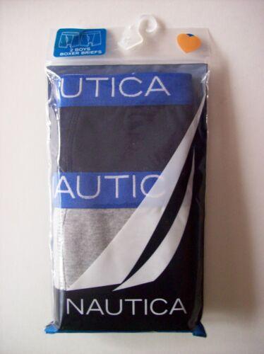 Nautica Underwear Underpants 2 Boxer Briefs Boys XS S M L XL Colors Patterns New
