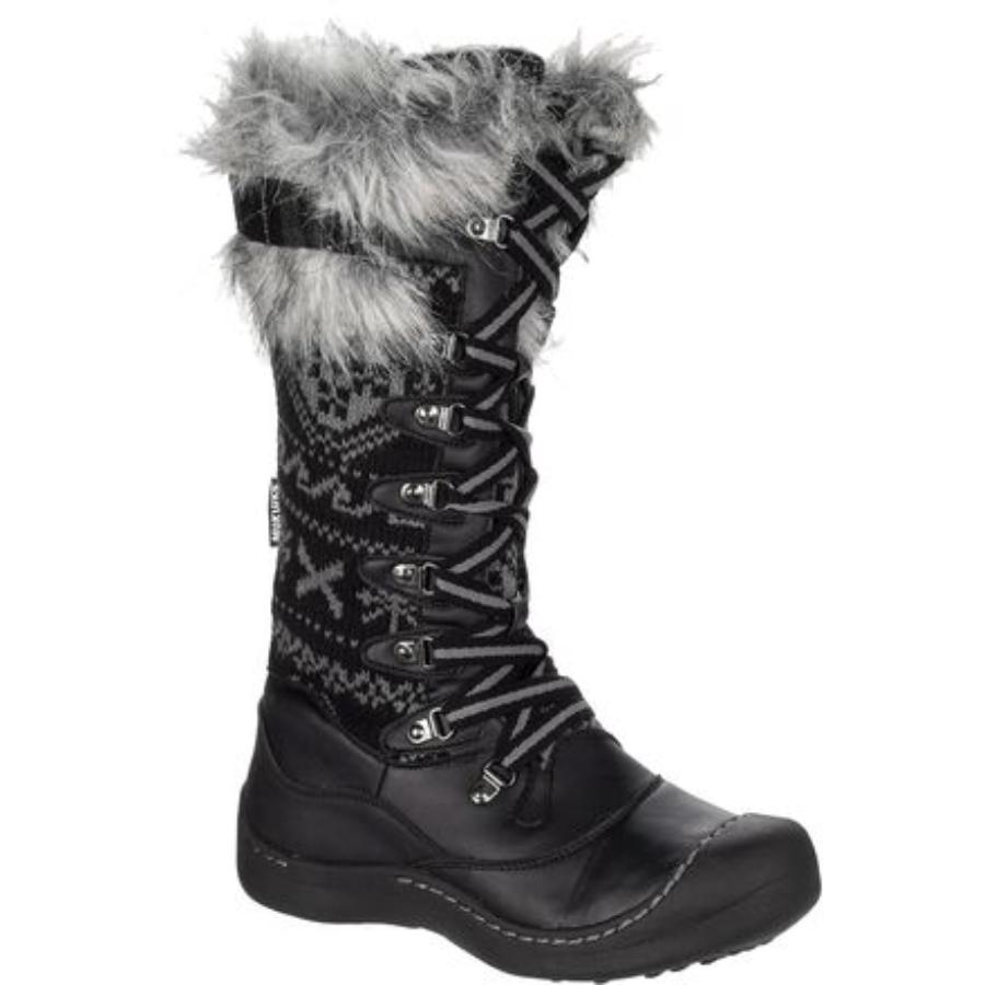 bellissimo Muk Luks Luks Luks Gwen Polyester Faux Fur Winter Snow stivali nero donna Dimensione 10  fornire un prodotto di qualità