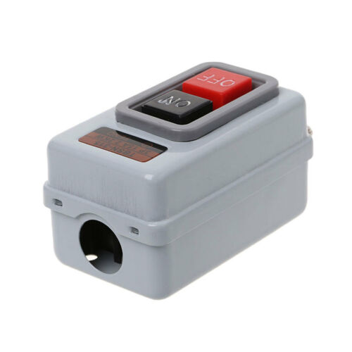 TBSN-315 AC 380V 15A 2.2KW ON//OFF 3 Phase Self-Locking Power Push Button Switch