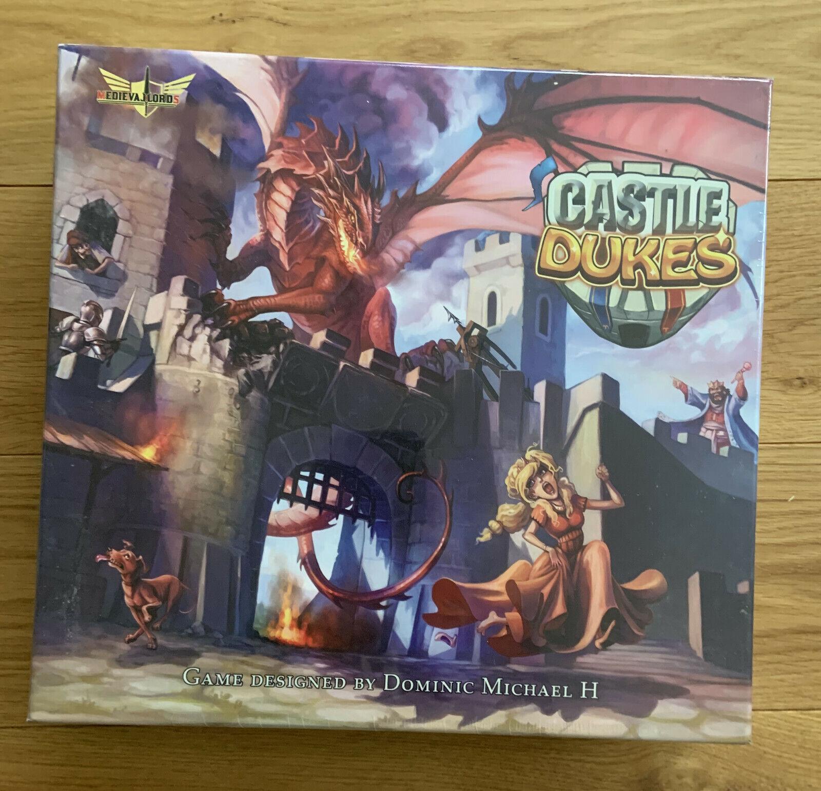 Castle Dukes  Medieval Fun in 3D  Kickstarter  NEU & OVP