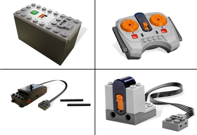 LEGO Train Motor Power Functions Battery Box Remote Receiver Winter Train 10254