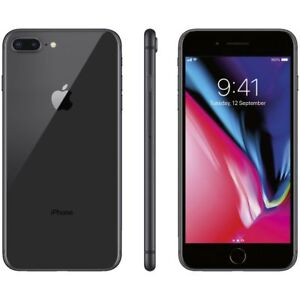 "APPLE IPHONE 8 PLUS 64GB SPACE GRAY NERO 64 GB 5,5 "" NUOVO GARANZIA ITALIA"