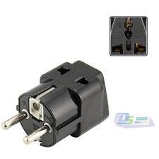 Universal AU / US / EU to DE AC Power Charger Plug Travel Adapter Converter New