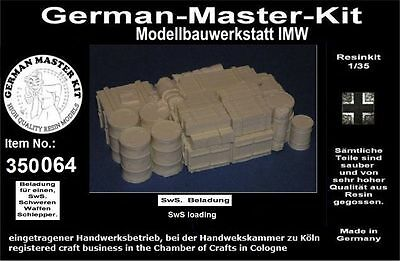 Ladegut 1:35 LKW Beladungsblock 2b WWII GMK World War II Resin 350141