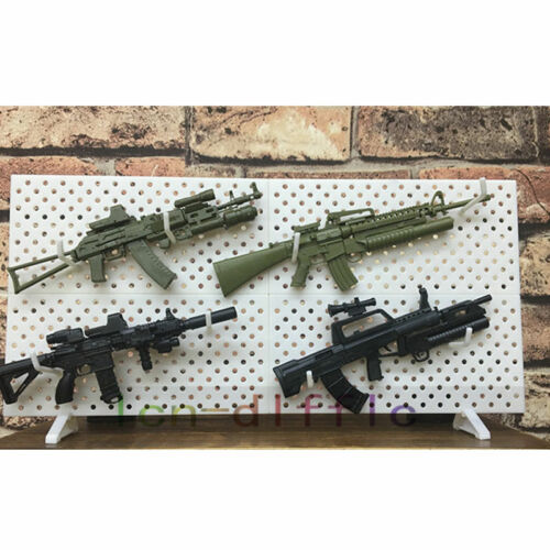 1//6 Scale Weapons Display Wall Show Storage Stand For Modular Gun Rack Models