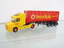 "Herpa 305273 1:87 Scania Hauber Bulkcontainer-Sattelzug ""Boere / IBC"" (NL) NEU"