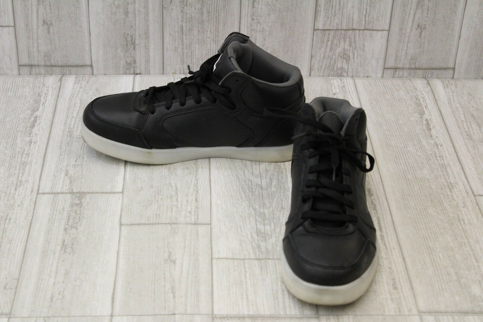 Skechers Energy Lights Parkey Sneakers-Men's size 8 Black Cheap and beautiful fashion