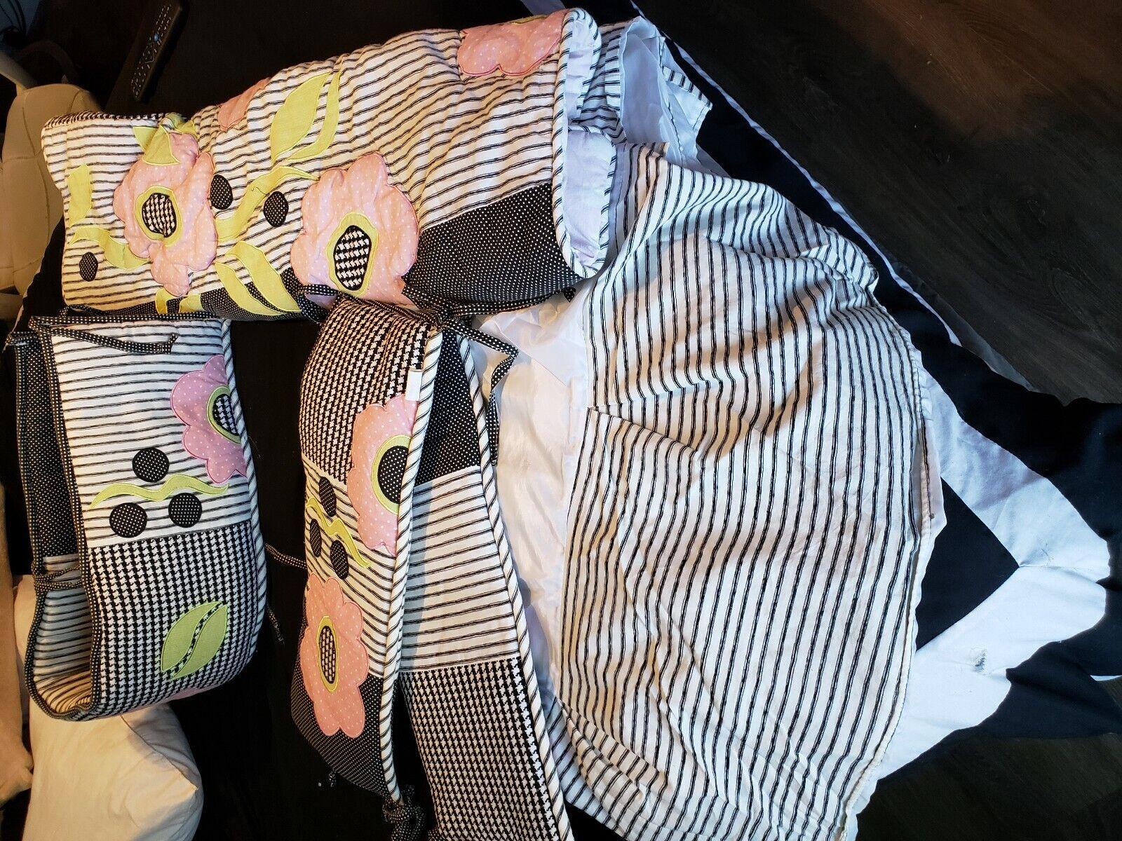 Cotton Tale Designs Tea Party 8pc Crib Bedding Set For Sale Online Ebay
