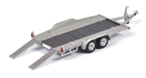 Neu Schuco 03765-1//43 Autoanhänger Silber//Grau