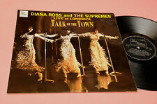 DIANA ROSS AND SUPREMES LP TALK OF THE TOWN ORIG UK 1968 EX LAMINATED COVER !!!!
