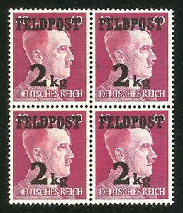 DR-Nazi-3rd-Reich-Rare-WW2-WWII-WK2-Stamp-Feldpost-2kg-Hitler-Head-Wehrmacht-SS