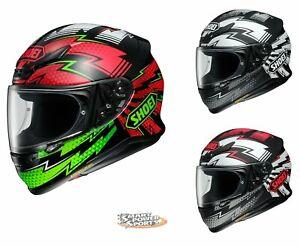 SHOEI-RF-1200-VARIABLE-Helmet-ALL-SIZES-DOT-SNELL-Street-Full-Face-Patriotic