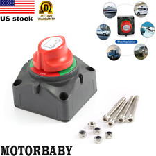 BATTERY SWITCH BEP 969 721 CONTOUR MASTER DUAL 4 POSITION HEAVY DUTY BOTH BOAT
