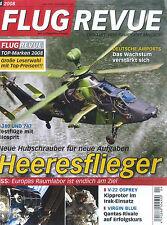 FLUG REVUE 04/2008: Heeresflieger +++plus Riesenposter+++
