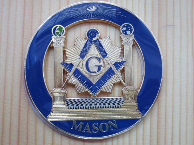 Masonic Car Badge Emblems E3 Mason Freemason