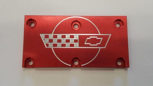Tpi Lt1 Corvette Throttle Body Cover Plate Red C4
