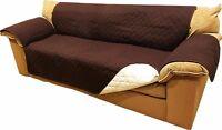 Reversible Microfiber Sofa Cover Chair Throw Pet Dog Kids Furniture Protector