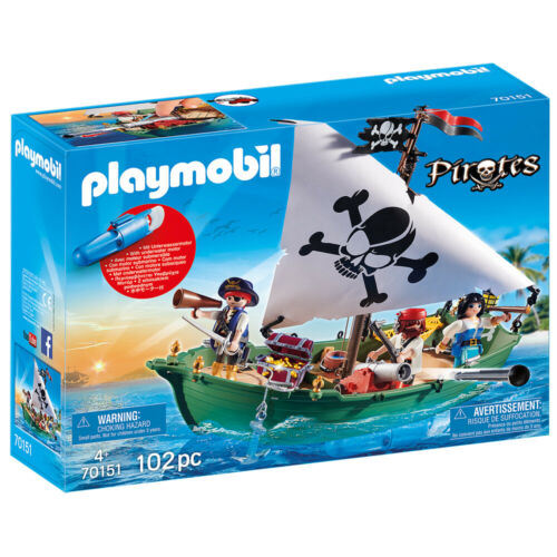 70151 Playmobil Pirates Pirate Ship with Underwater Motor