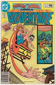 Adventure-Comics-473-LOT-of-SIX-copies-VF-Plastic-Man-Starman-Jul-1980-DC