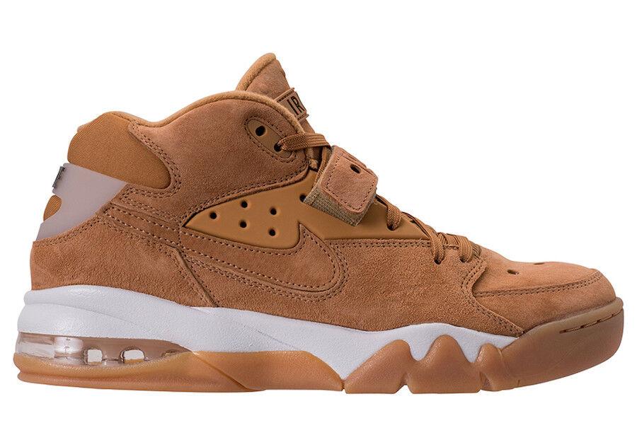 New Nike Men's Air Force Max Shoes (315065-200)  Flax/Flax-Phantom-Gum Lt Brown