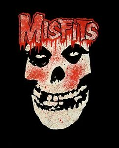 THE-MISFITS-cd-lgo-BLOODY-SKULL-FIEND-Official-SHIRT-XL-New-OOP-danzig-samhain