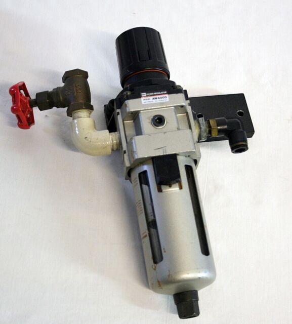 SMC AW30-N03DEH-Z USED FILTER REGULATOR WITH VHS30-N03-Z VALVE AW30N03DEHZ