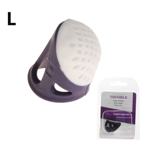 Silicone Plastic Thimble Anti-slip Finger Protectors Accessories Sewing Thimble