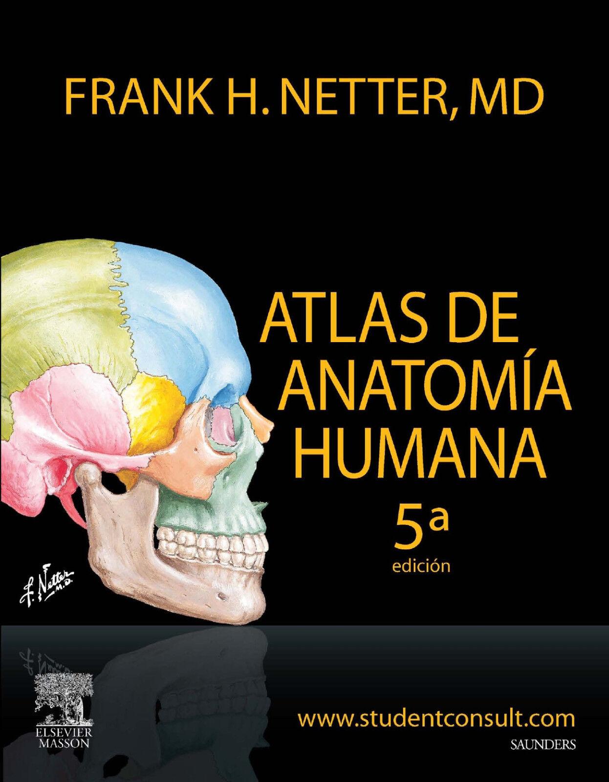 Atlas De Anatomia Humana Frank Netter Ebay