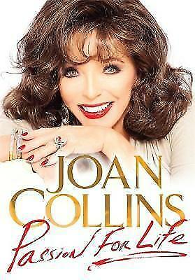"""AS NEW"" Passion for Life, Collins, Joan, Book"