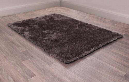 Ultimate Indigo Grey Coloured Dense Shaggy Rug in various sizes