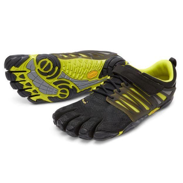 NEW VIBRAM BLACK VTRAIN Schuhe SNEAKER RUNNING FITNESS BLACK VIBRAM GREEN FIVEFINGERS 42-46 acf3c2